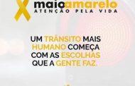Sinduscon- Ma participa da campanha de prevenção contra acidentes, Maio Amarelo.