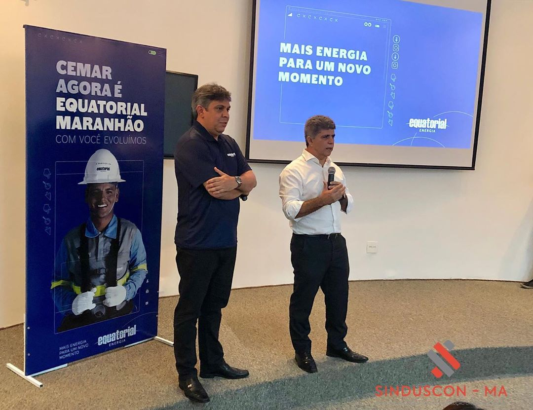 Sinduscon-Ma participa de coletiva de imprensa promovida pelo Grupo Equatorial