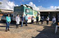 Em parceria com o SESI, Sinduscon-MA realiza a entrega de kits de higiene em canteiro de obras