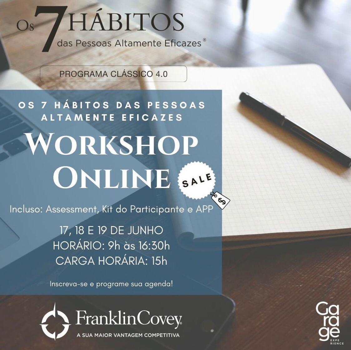 """Em parceria com Sinduscon-MA, Garage Experience promove workshop sobre """"Os 7 hábitos de pessoas altamente eficazes"""""""