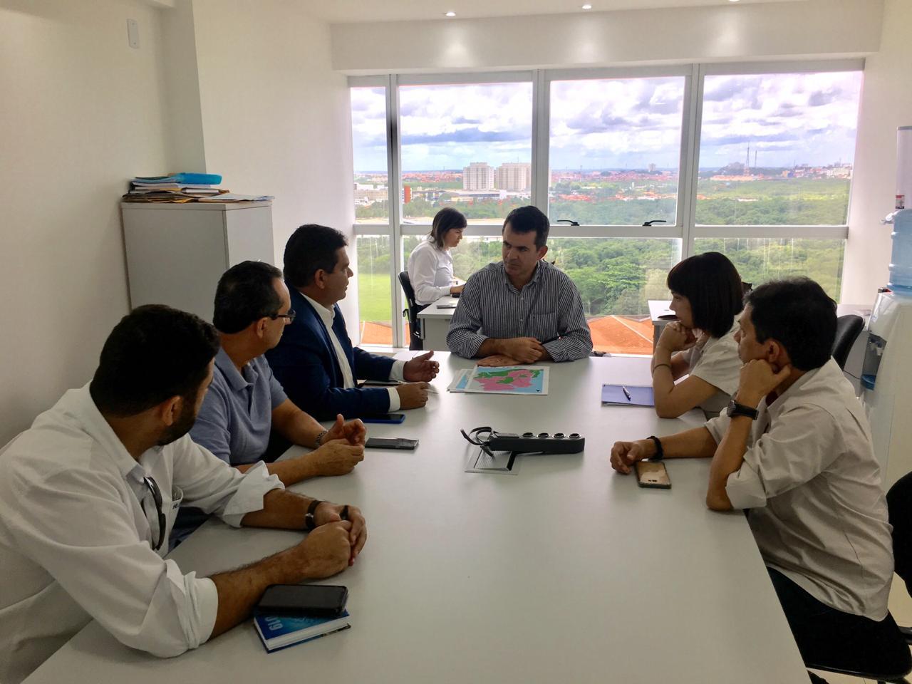 Diretoria do Sinduscon/MA apresenta projeto Container ao diretor de Contratos da Rota Nordeste EPC Associados