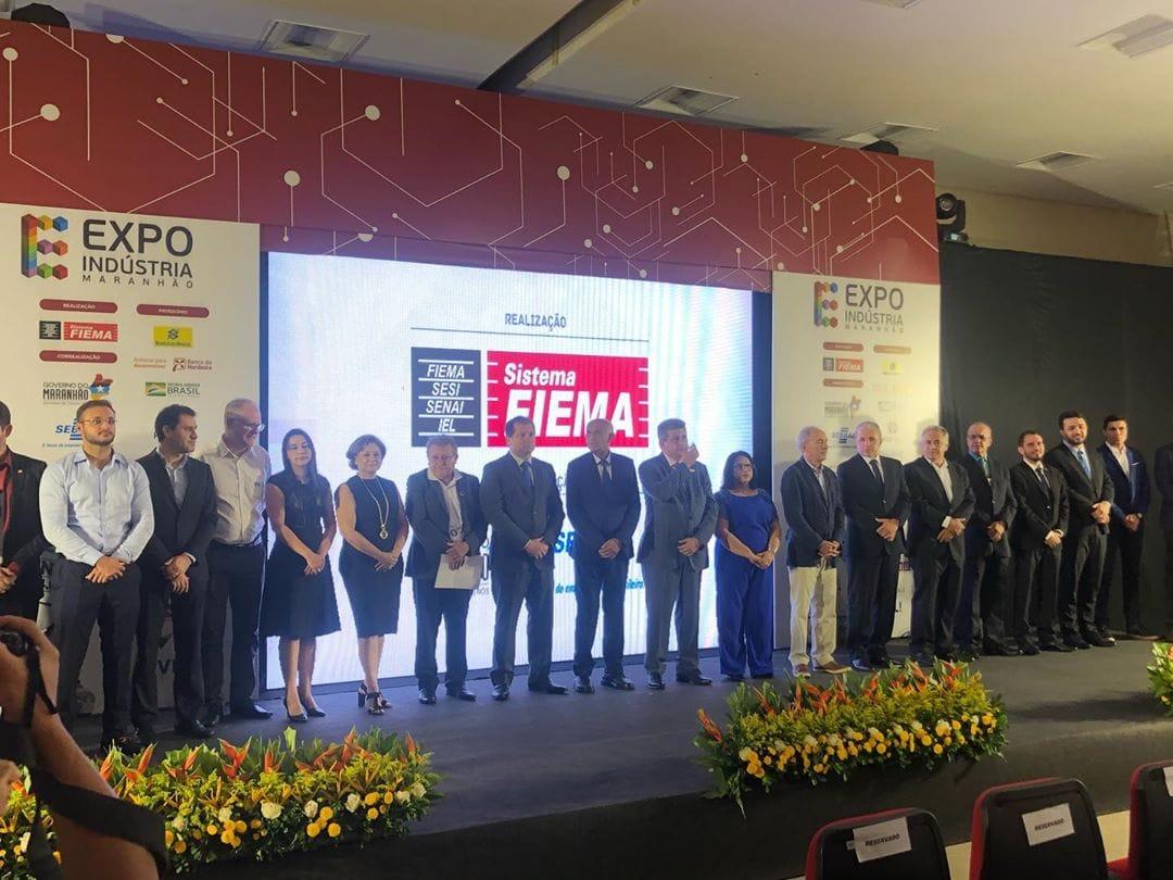 Confira um pouco do que aconteceu na abertura oficial da 3º edição da Expo Indústria MA