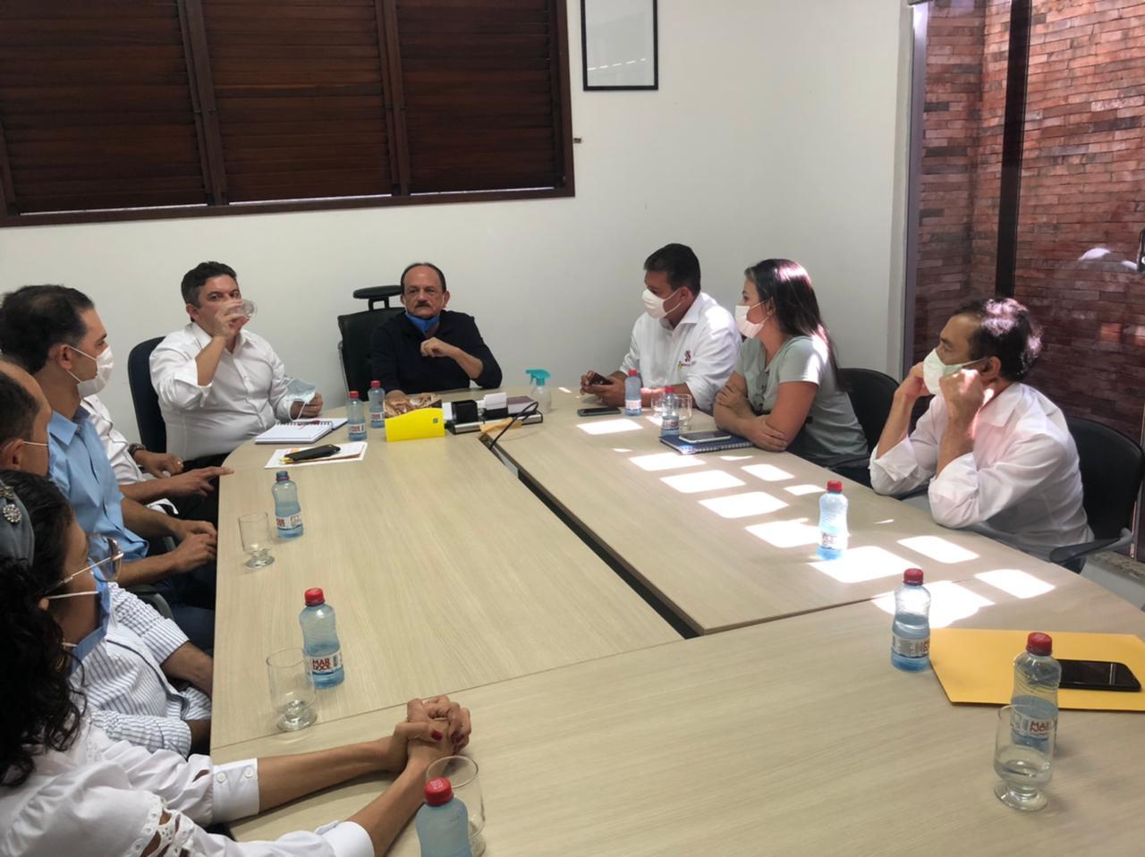 Reunião com o Prefeito de São José de Ribamar, dr. Julinho para apresentar as empresas que atuam na região