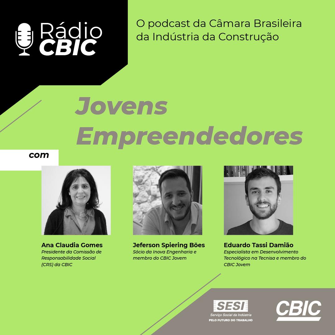 Ouça o novo episódio do podcast da Rádio CBIC sobre digitalização