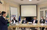 Setor da construção é recebido pelo Ministro do Desenvolvimento Regional, Rogério Marinho